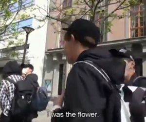 flower, funny, and bon voyage image