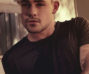 boy, dacre montgomery, and stranger things image