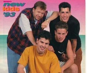 joey mcintyre, donnie wahlberg, and new kids on the block image