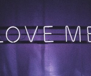 header, neon, and loveme image