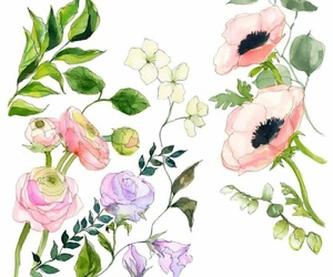 dibujo, green, and illustration image