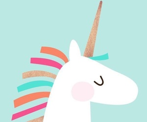 unicorn, colors, and wallpaper image