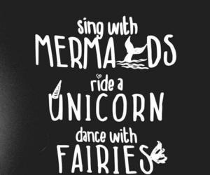 Fairies and mermaid image