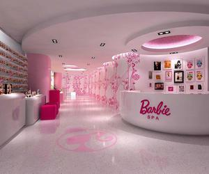 barbie, spa, and pink image