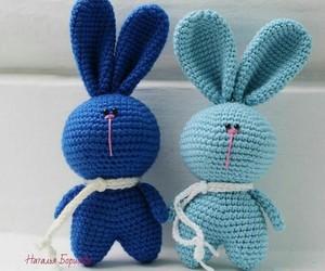 bunny, amigurumi, and crochet image