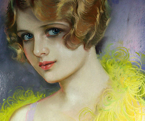 1920s, art, and bobbed hair image
