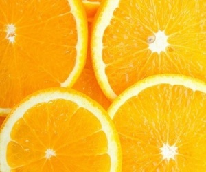 orange, fruit, and wallpaper image