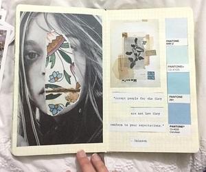 art, journal, and scrapbook image