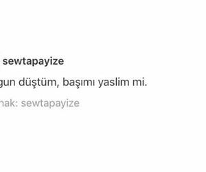 sözler, yorgun, and türkçe image