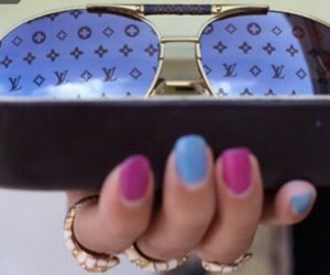 sunglasses and louis vouitton image