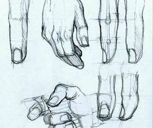 draw and hand image