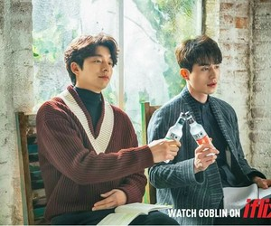goblin, gong yoo, and lee dong wook image