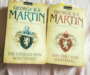 books, german, and game of thrones image