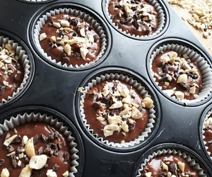 cacao, chocolate, and cupcakes image