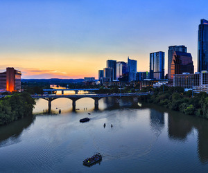 Austin, buildings, and houston image