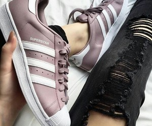 adidas, girls, and superstar image