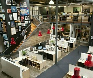 business, work, and work space image