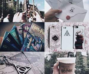 hogwarts, hp, and potter image