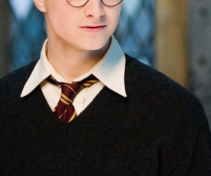 harry potter, daniel radcliffe, and black and white image