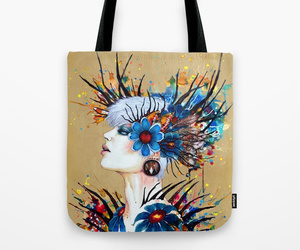abstract, illustration, and bag image