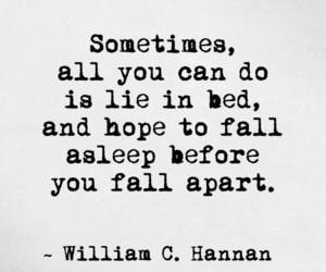 asleep, fall apart, and feelings image