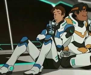 blue, hunk, and lance image