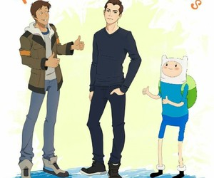 lance, Voltron, and adventure time image