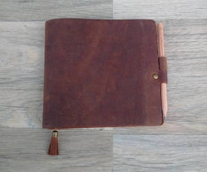 etsy, travelers notebook, and leather journal image
