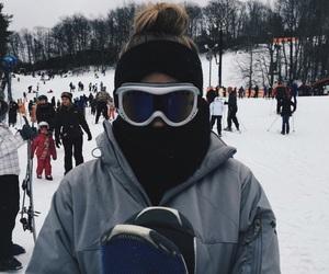 girl, inspiration, and mountain image