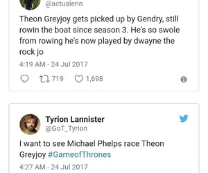 funny, twitter, and game of thrones image