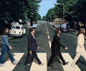 abbey road and the beatles image