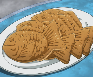 anime, anime food, and anime gif image