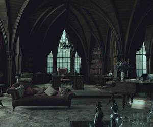 dark, gothic, and room image