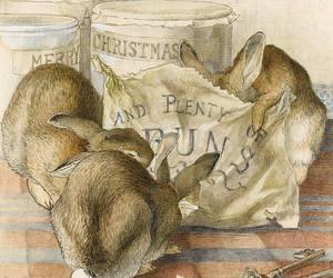 beatrix potter, bunny, and rabbits image