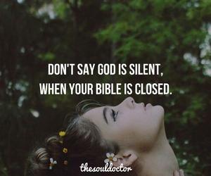 bible, god, and faith image