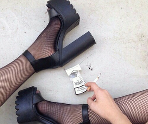 accesories, black, and heels image