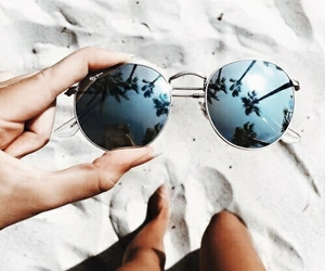 glasses and summer image
