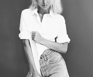 black and white, noir et blanc, and dove cameron image