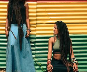 dreadlocks, dreads, and family image