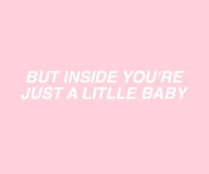 baby, cigarettes, and Lyrics image