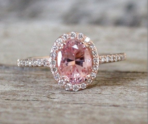 pink, ring, and jewelry image
