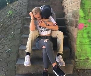alternative, boy, and couple image