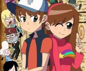 twins and gravity falls image