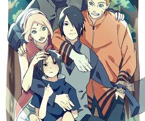 family, kakashi, and sakura image