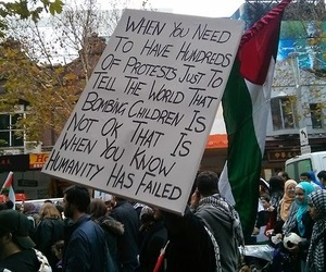 humanity, protest, and war image