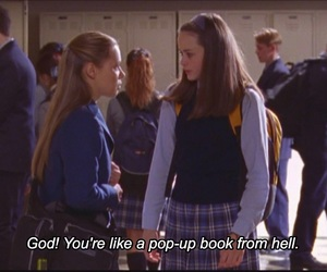90s, alternative, and gilmore girls image