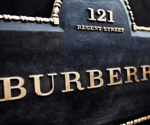 Burberry, black, and luxury image