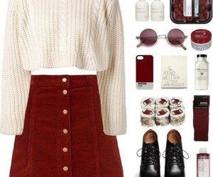 outfit, clothes, and look image