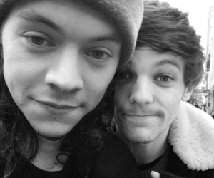 black and white, lgbt, and Harry Styles image