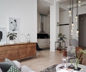 bedroom, interior, and kitchen image